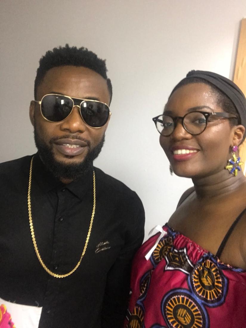 Le chanteur nigérian Wizzboy